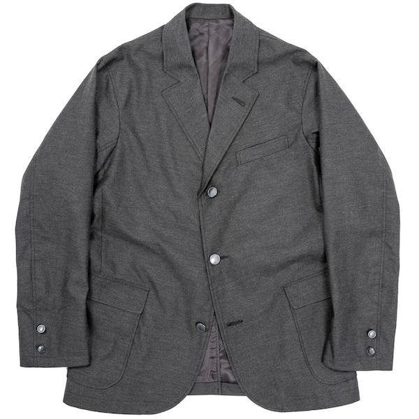 Sport Coat Yarn Dyed Twill Grey