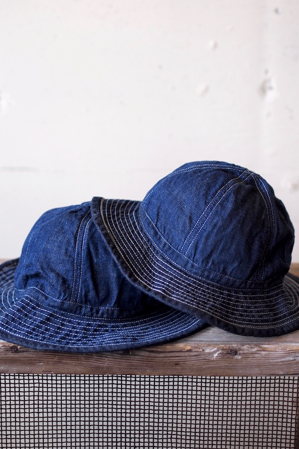 TCB jeans 30's Hat (US.Army Hat) Denim-1