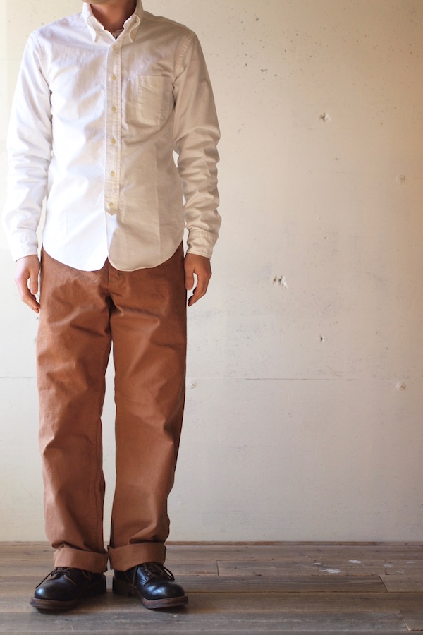 TCB jeans Carpenter Pants Brown Duck-1