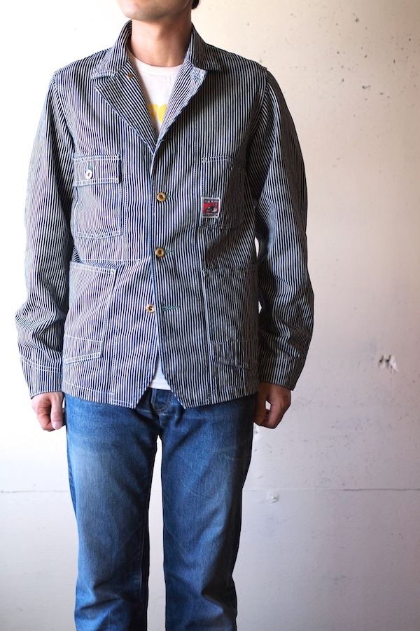 TCBjeans Chore JKT, Hickory-1