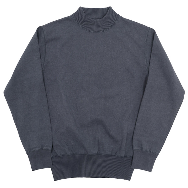 USN Cotton Sweater Faded Black