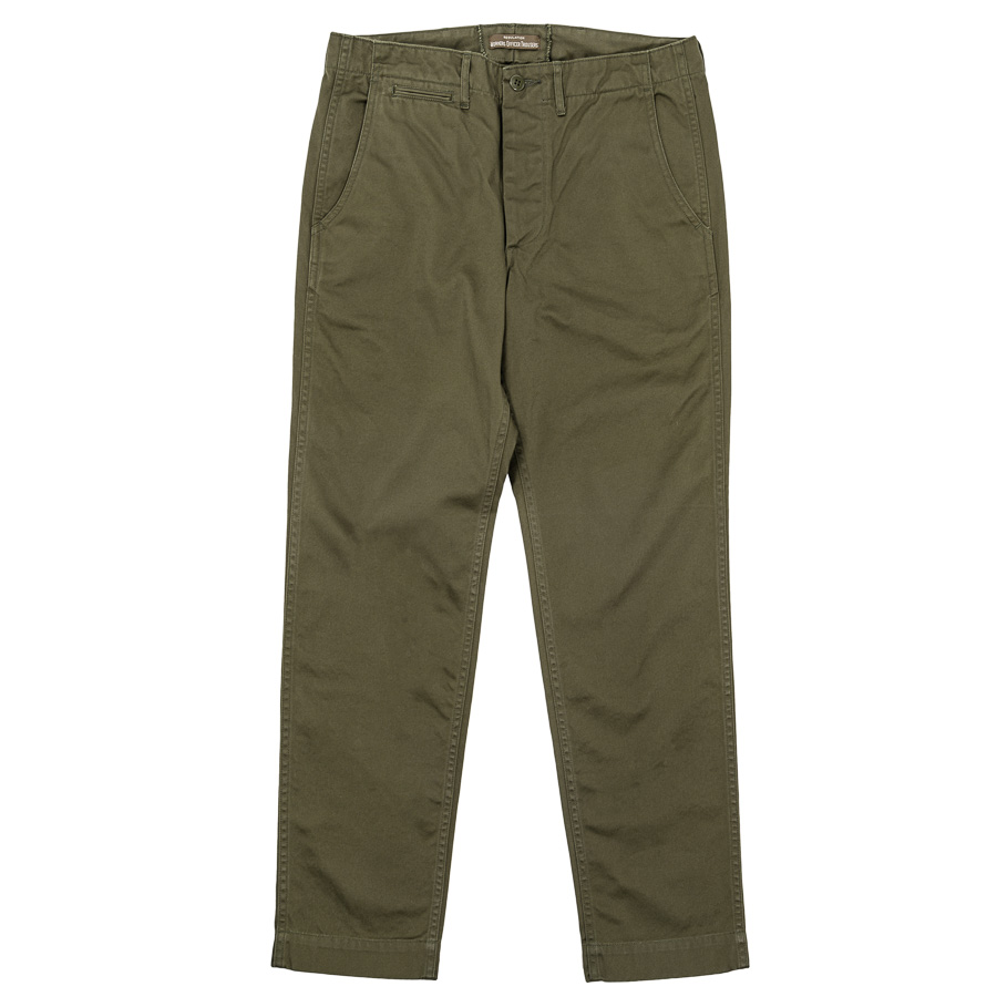 Officer Trousers Slim Type2 Olive