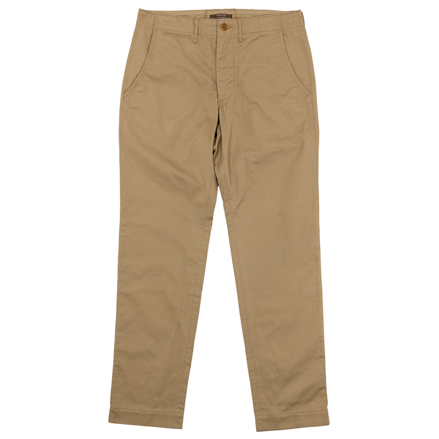 W-O-T Slim Type-1 7.3oz Compact Chino Beige