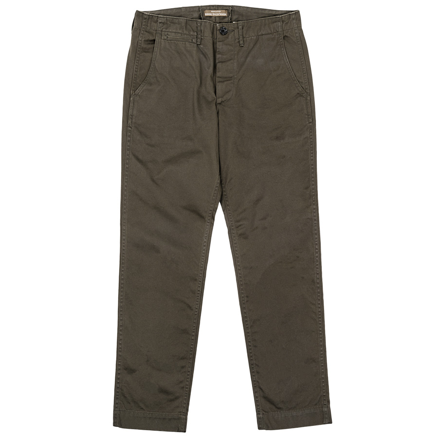 Officer Trousers Slim Type2 Charcoal Grey