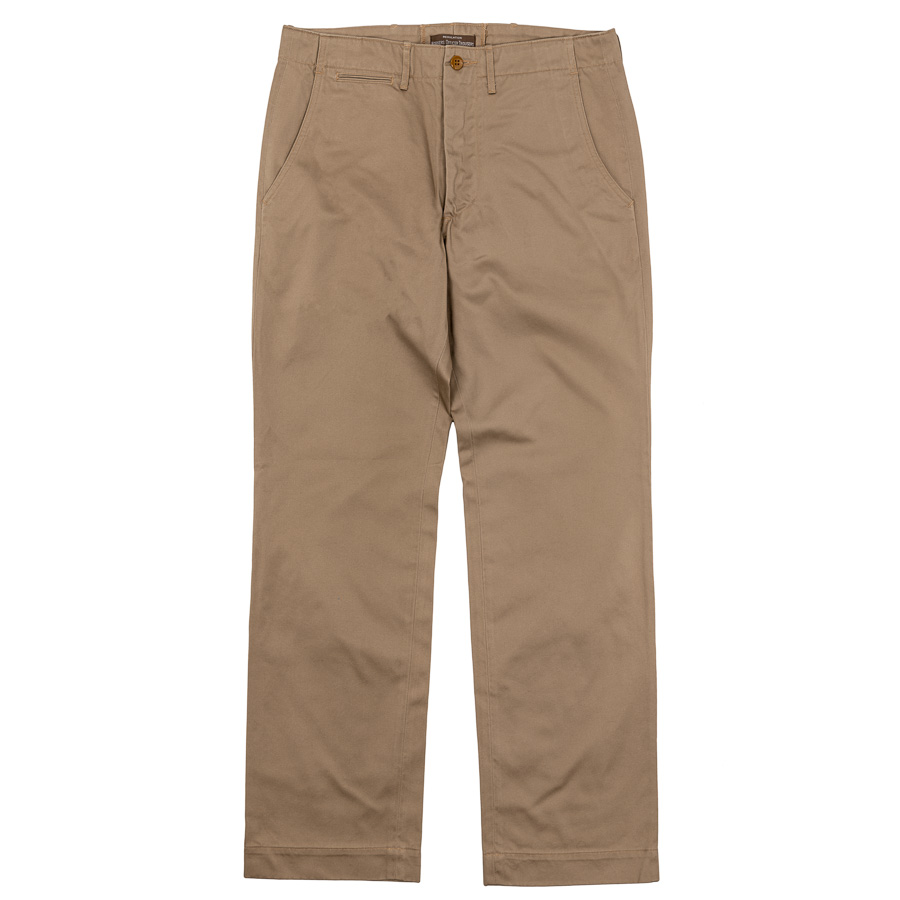 W-O-T Slim Type-1 10oz Chino Beige