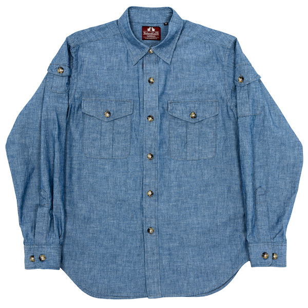 W&G Shirt Blue Chambray