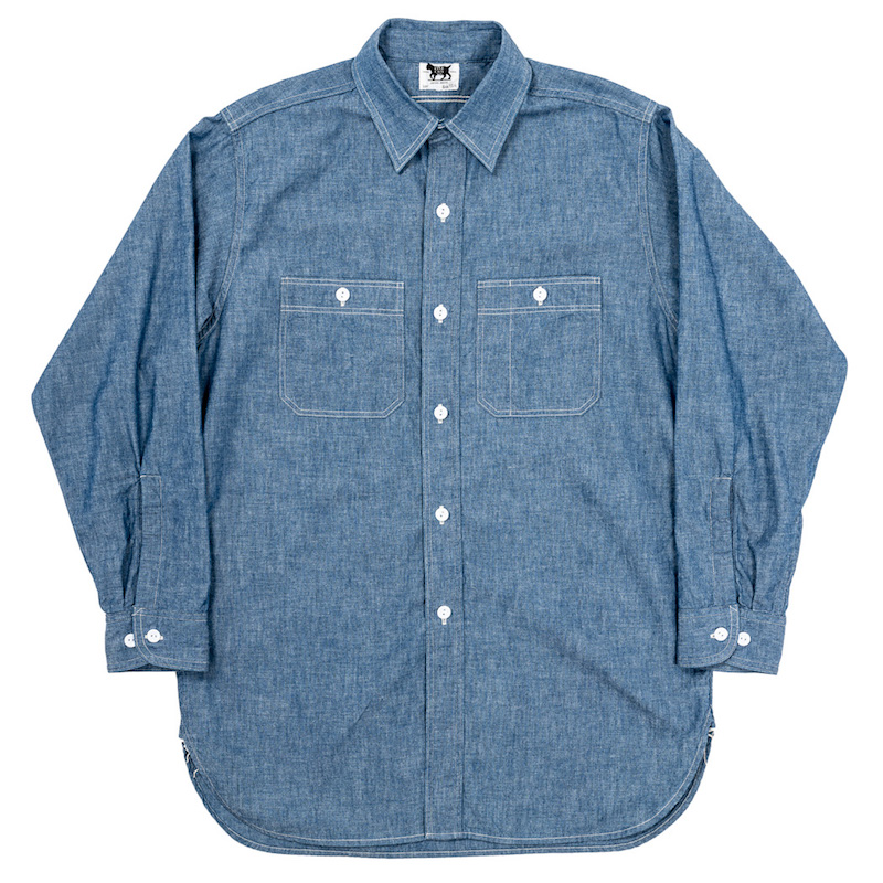 Work Shirt Vintage Fit 5oz Blue Chambray