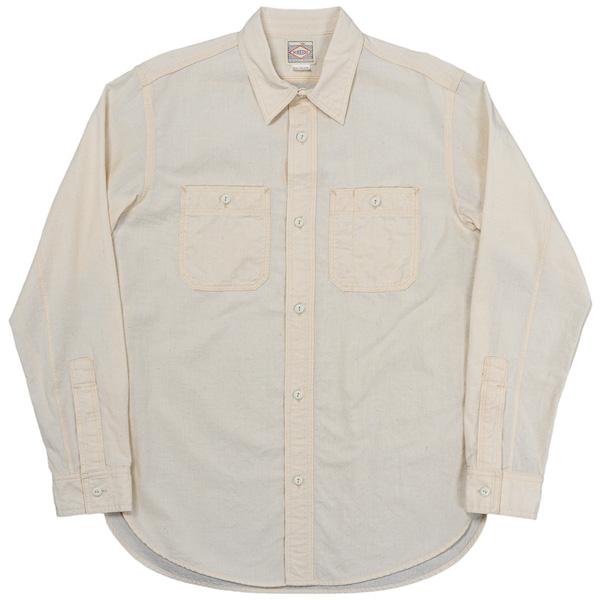 Work Shirt White Chambray