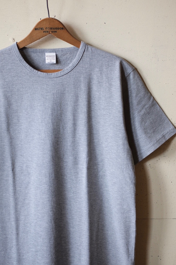 WORKERS 3-PLY Tee Grey-1