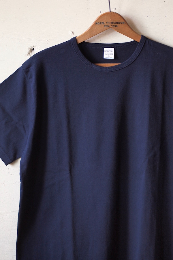 WORKERS 3-PLY Tee Navy-1