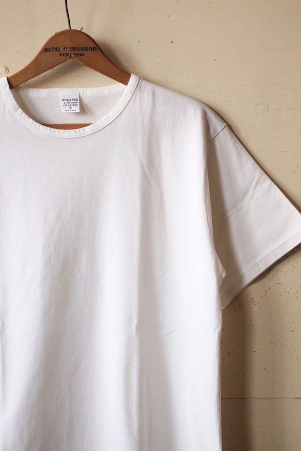 WORKERS 3-PLY Tee White-1