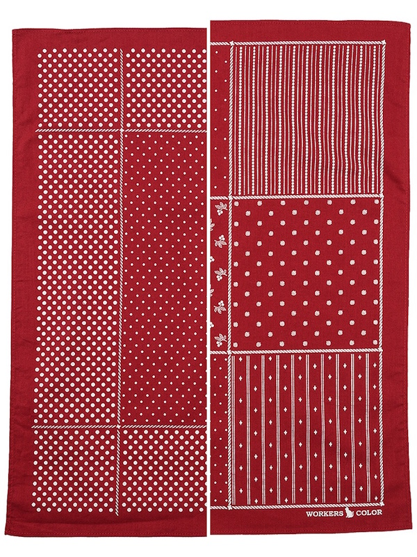 WORKERS Bandana Red Dot / Stifel