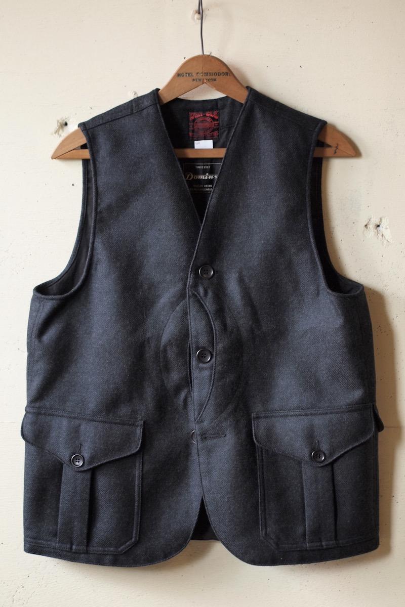 WORKERS Cruiser Vest Dominx Double Cloth Black