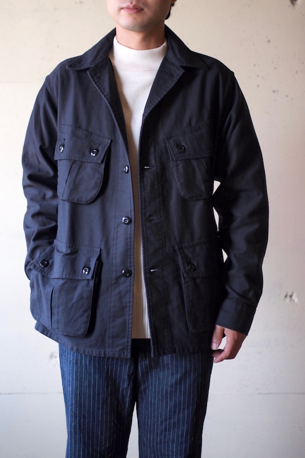 WORKERS Fatigue JKT Reversed Sateen Black-1