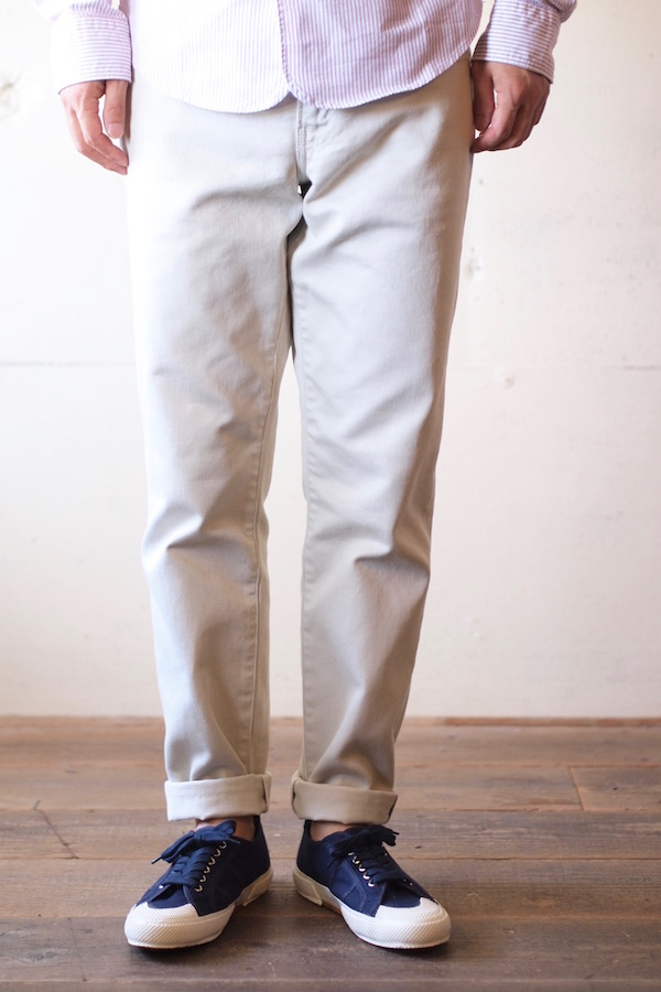 WORKERS Lot.819 Pique Pants White-1