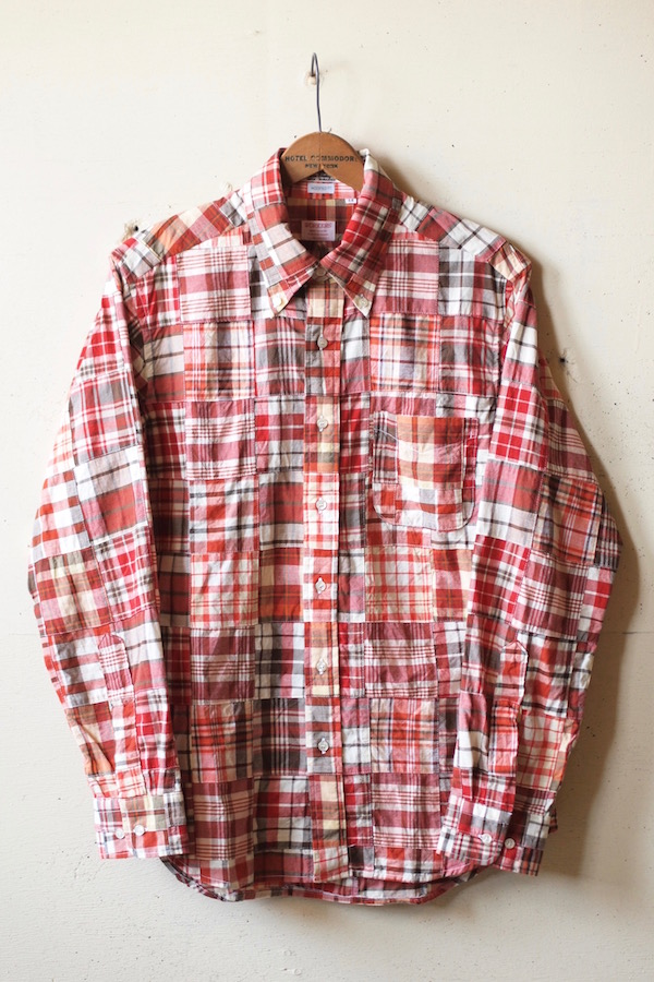 WORKERS Lt. Modified BD Patchwork Madras-1