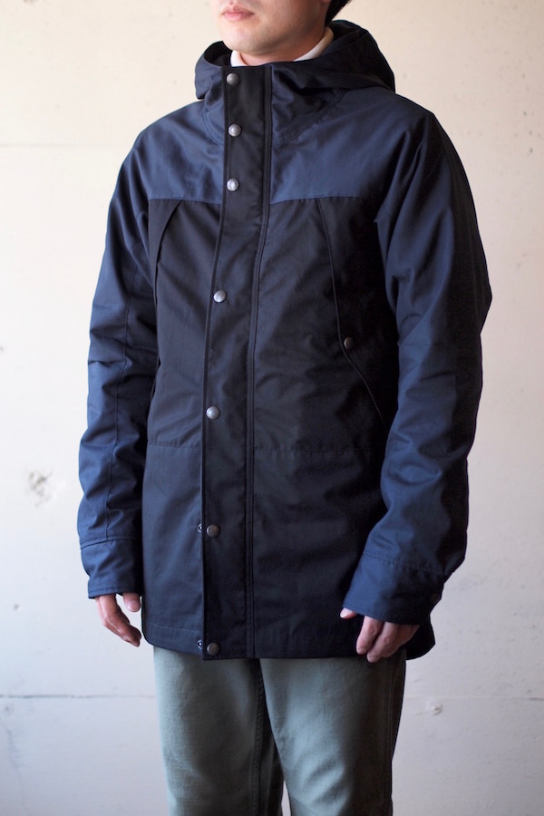 WORKERS Mountain JKT Ventile Type-B Top Navy-1