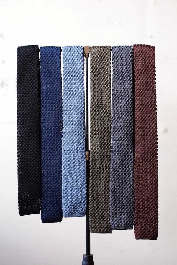 WORKERS Silk Knit Tie, 2015 F/W-1