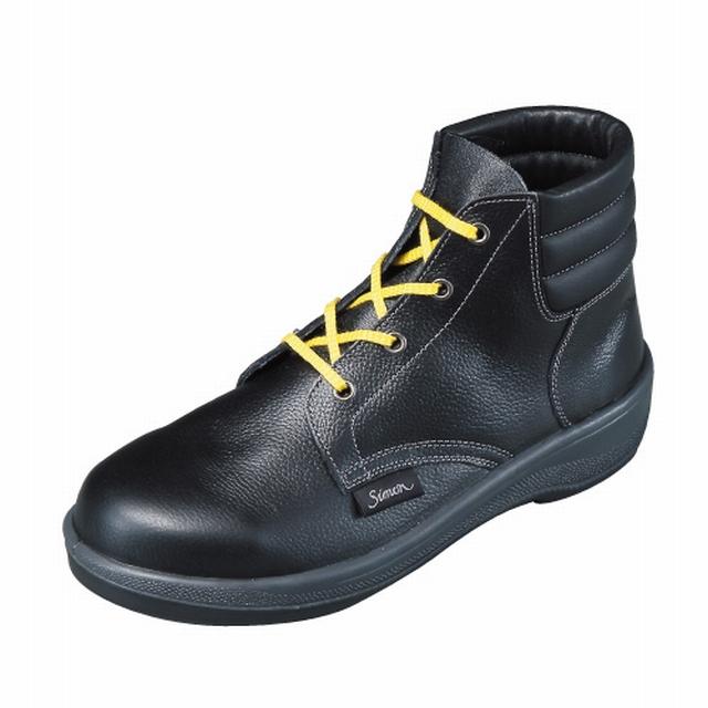 制電靴7522黒シモン