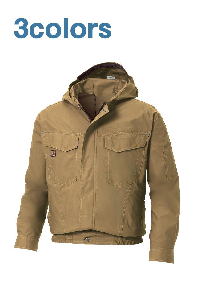 綿100%フード付き空調服