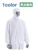 フード付き白衣