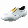 静電靴SS11白シモン