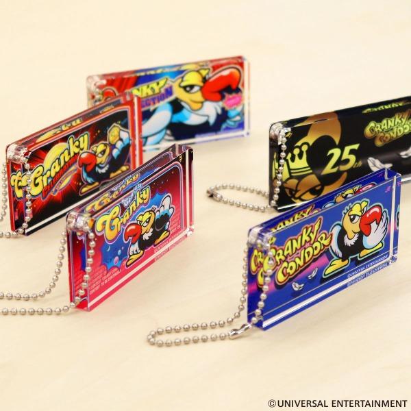 【パネルアクリルキーホルダー】クランキーコンドル-25th Anniversary