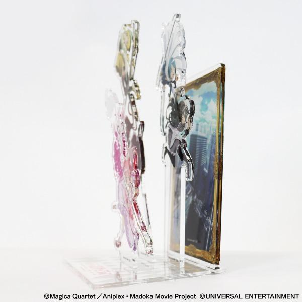 【アクリルスタンドジオラマ】SLOT劇場版 魔法少女まどか☆マギカ[前編]始まりの物語/[後編]永遠の物語