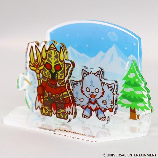 【ミニジオラマコレクション】1月-雪山のゆるはーです&ゆるべろす
