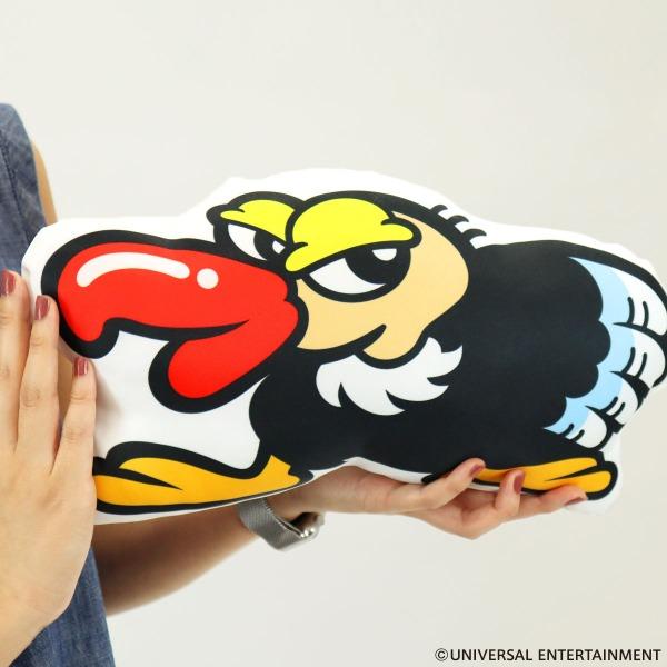 【ダイカットクッション】クランキーコンドル-25th Anniversary
