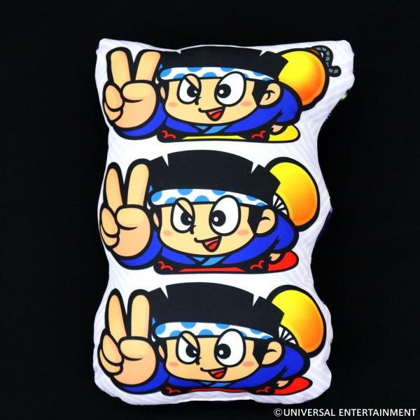 【ダイカットクッション】ハナビ-3連ドン