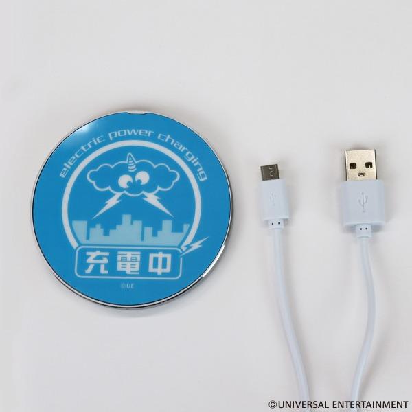 【ワイヤレス充電器】サンダーV-イッカククン