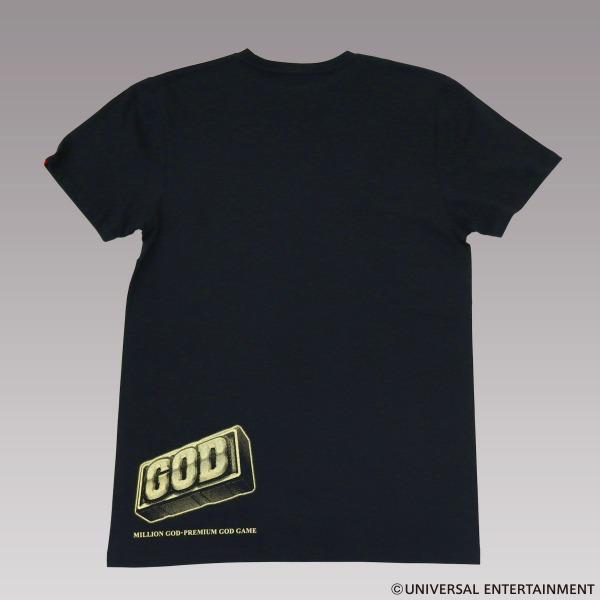 【Tシャツ】MILLION GOD-左を押してください(復刻)