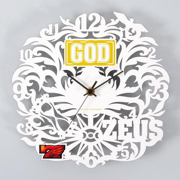 【壁掛け時計】MILLION GOD