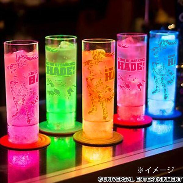 【光るロングカクテルグラス】ANOTHER GOD HADES