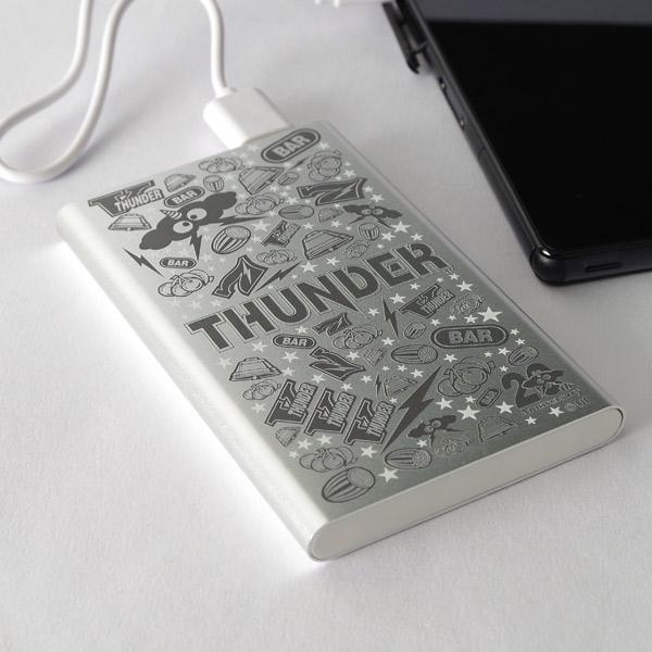 【モバイルバッテリー】サンダーV-20th Anniversary