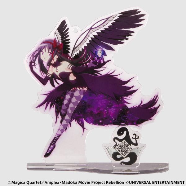 【アクリルスタンドキーホルダー】SLOT劇場版魔法少女まどか☆マギカ[新編]叛逆の物語-悪魔ほむら