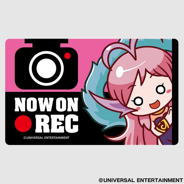 【セーフティーサイン】NOW ON REC-ゆるせぽね