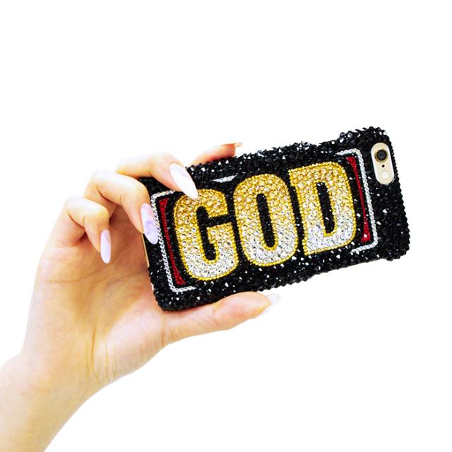 スワロフスキーケース-GOD