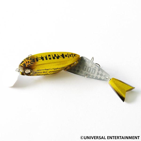 【ルアー】TETHYS OGG×UNI-MARKET-SARYU175-ミリオンゴッドカラー(slow sinking type)
