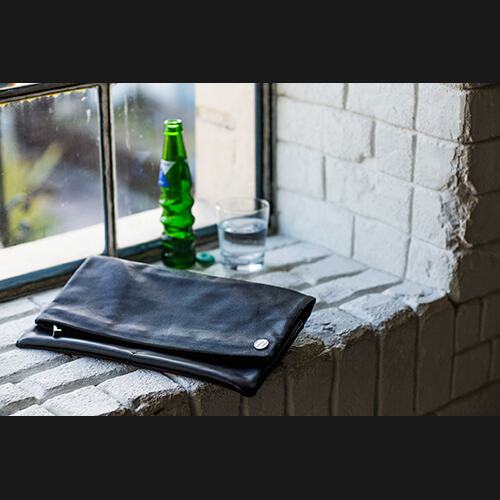 【sevens】clutch bag - black