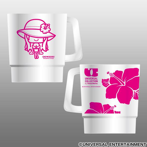 パンソンワークス×UNI-MARKET【スタッキングマグカップ】UC(ユニバーサルコレクション)カナハナ-2個セット