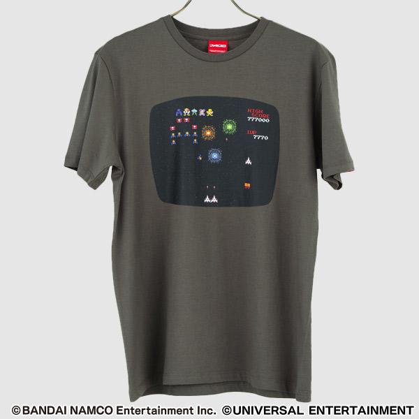 BNE×UE【Tシャツ】SLOTギャラガ-A PROJECT