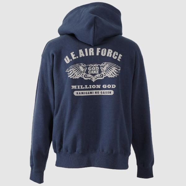 【パーカー】【AO TAG】【ミリタリー】MILLION GOD-AIR FORCE