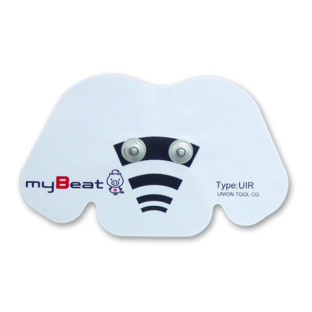 【myBeat用に開発された電極パッド】 myBeat ディスポーザブル電極 UIR-10p(10枚/袋 10回使用分)