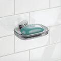 オーガニック化粧品手作り石鹸アンティアンインターデザインソープディッシュ吸盤タイプ写真