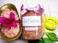 手作り石鹸アンティアン ヒマラヤ手岩塩天然入浴剤アロマバスソルト「ロマンティック250」写真