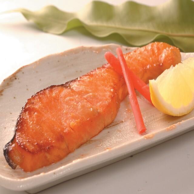 焼紅鮭 器