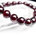 ロードライトガーネット 2月誕生石 ブレスレット 天然石 パワーストーン 数珠