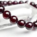 ロードライトガーネット 4月誕生石 ブレスレット 天然石 パワーストーン 数珠